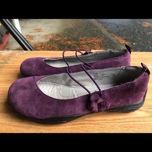 Jambu Women's Purple Suede Slip On Shoes Size 7.5